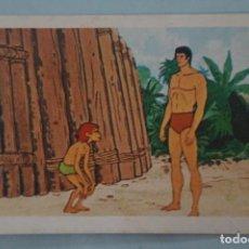 Coleccionismo Cromos antiguos: CROMO DE TARZAN DESPEGADO Nº 90 AÑO 1979 DEL ÁLBUM TARZAN DE FHER . Lote 140682937