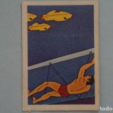 Coleccionismo Cromos antiguos: CROMO DE TARZAN DESPEGADO Nº 168 AÑO 1979 DEL ÁLBUM TARZAN DE FHER . Lote 133095242
