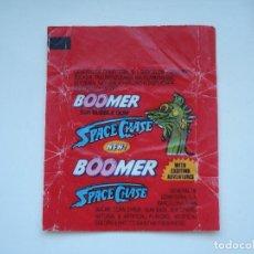 Coleccionismo Cromos antiguos: ENVOLTORIO BOOMER SPACE CHASE #3 CROMO CHICLES BUBBLE GUM! CHICLE CROMOS RARO AÑOS 90. Lote 133396314