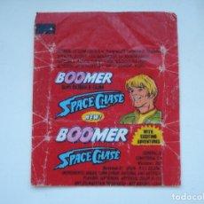 Coleccionismo Cromos antiguos: ENVOLTORIO BOOMER SPACE CHASE #4 CROMO CHICLES BUBBLE GUM! CHICLE CROMOS RARO AÑOS 90. Lote 133396370