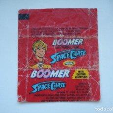 Coleccionismo Cromos antiguos: ENVOLTORIO BOOMER SPACE CHASE #5 CROMO CHICLES BUBBLE GUM! CHICLE CROMOS RARO AÑOS 90. Lote 133396438