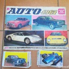 Coleccionismo Cromos antiguos: LOTE DE 120 CROMOS DEL ALBUM AUTO 1967 (RECUPERADOS). Lote 133466834