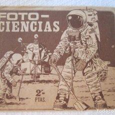 Coleccionismo Cromos antiguos: SOBRE DE CROMOS FOTO CIENCIAS SIN ABRIR ANTIGUO EDICIONES KEISA. Lote 133614254