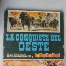 Coleccionismo Cromos antiguos: LOTE 100 CROMOS LA CONQUISTA DEL OESTE. SE VENDEN SUELTOS 1 EURO UNIDAD Y 1,5 LOS DOBLES. Lote 134181922