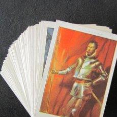 Coleccionismo Cromos antiguos: SERIE COMPLETA DE 80 CROMOS DON QUIJOTE DE LA MANCHA. CHOCOLATE AMATLLER ILUSTRADOR SEGRELLES. . Lote 135141970