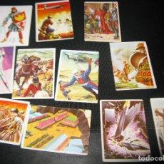 Coleccionismo Cromos antiguos: CROMOS HISTORIA Y FICCION . Lote 135489230
