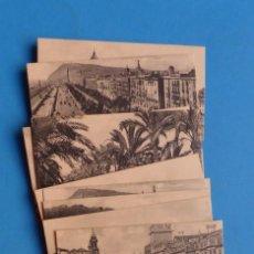 Coleccionismo Cromos antiguos: 15 CROMOS-POSTALES CIUDADES ESPAÑA, AÑOS 1930-40, VER FOTOS ADICIONALES. Lote 135689079