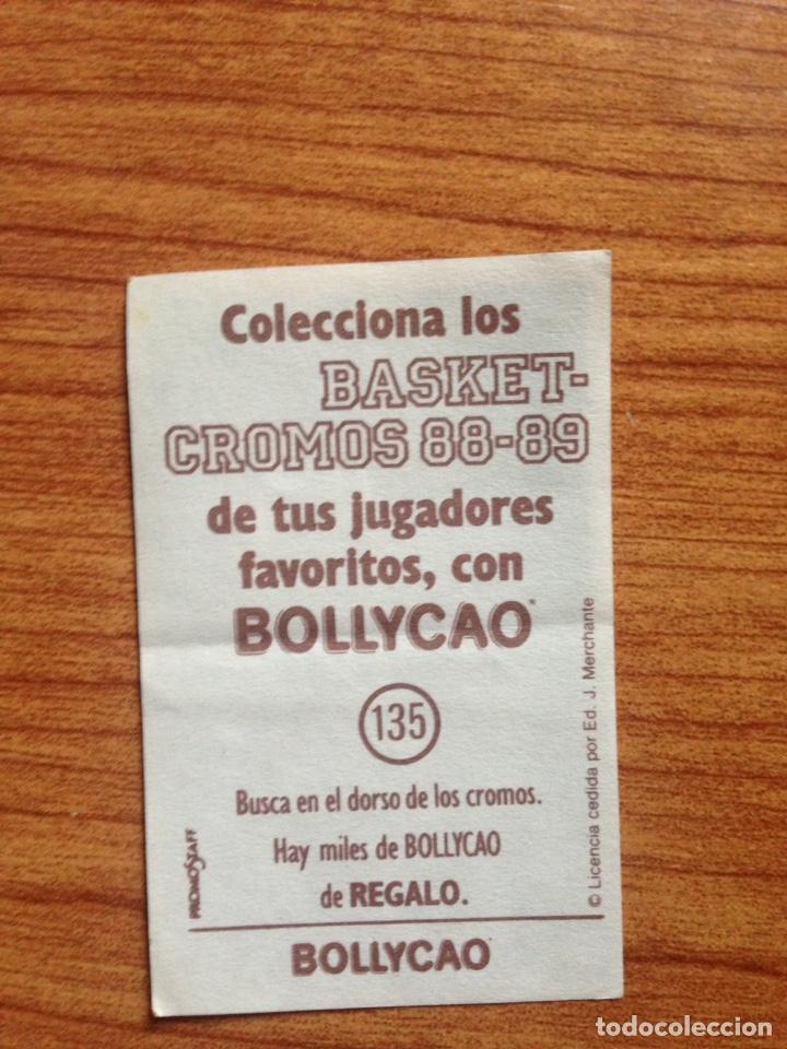 Coleccionismo Cromos antiguos: Cromo basket 88-89 Bollycao - Foto 2 - 135807163