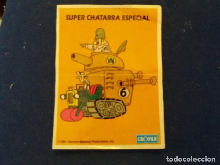 CROPAN DIFICIL CROMO ADHESIVO HANNA BARBERA SUPER CHATARRA ESPECIAL ESCUADRON DIABÓLICO 1991 (Coleccionismo - Cromos y Álbumes - Cromos Antiguos)