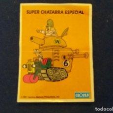 Coleccionismo Cromos antiguos: CROPAN DIFICIL CROMO ADHESIVO HANNA BARBERA SUPER CHATARRA ESPECIAL 1991. Lote 136102990