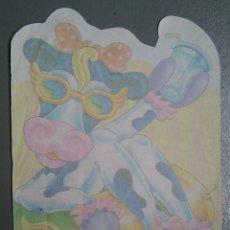 Coleccionismo Cromos antiguos: HOJA DE CAMBIO OLOR VACA AÑOS 90. Lote 136163425