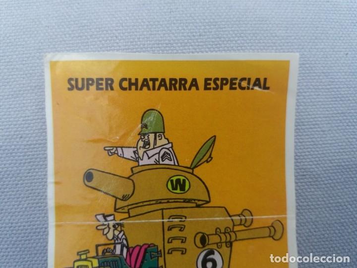 Coleccionismo Cromos antiguos: CROPAN DIFICIL CROMO ADHESIVO HANNA BARBERA SUPER CHATARRA ESPECIAL ESCUADRON DIABÓLICO 1991 - Foto 3 - 136102990