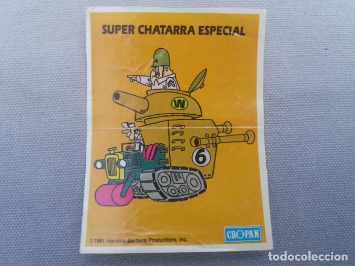 Coleccionismo Cromos antiguos: CROPAN DIFICIL CROMO ADHESIVO HANNA BARBERA SUPER CHATARRA ESPECIAL ESCUADRON DIABÓLICO 1991 - Foto 5 - 136102990