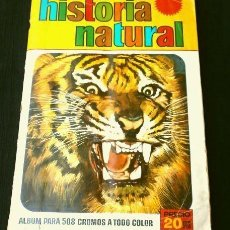 Coleccionismo Cromos antiguos: HISTORIA NATURAL, BRUGUERA LOTE DE 400 CROMOS DESPEGADOS, TAMBIÉN SUELTOS A 0,50€. Lote 136454486