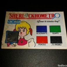 Coleccionismo Cromos antiguos: CROMO SHERLOCKHOMETRO CROPAN CRECSPAN NO PHOSKITOS NO PANRICO. Lote 136638862