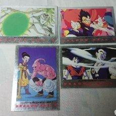 Coleccionismo Cromos antiguos: DRAGON BALL Z SERIE 2 CARDS : 4,44,51 Y 93 / CROMOS, FICHAS. Lote 137170606