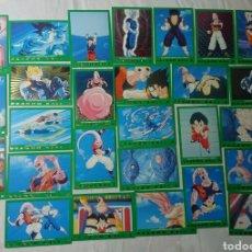 Coleccionismo Cromos antiguos: LOTE 28 DRAGON BALL Z CARDS SERIE 5: 77,43,5,86,53, 65,2,94,21,25,48,10,27,55,66,70,42,16,40,99,100,. Lote 137171066