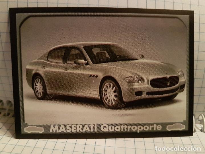 Cromo Antiguo Auto Planet Numero 155 Maserati Q Comprar Cromos