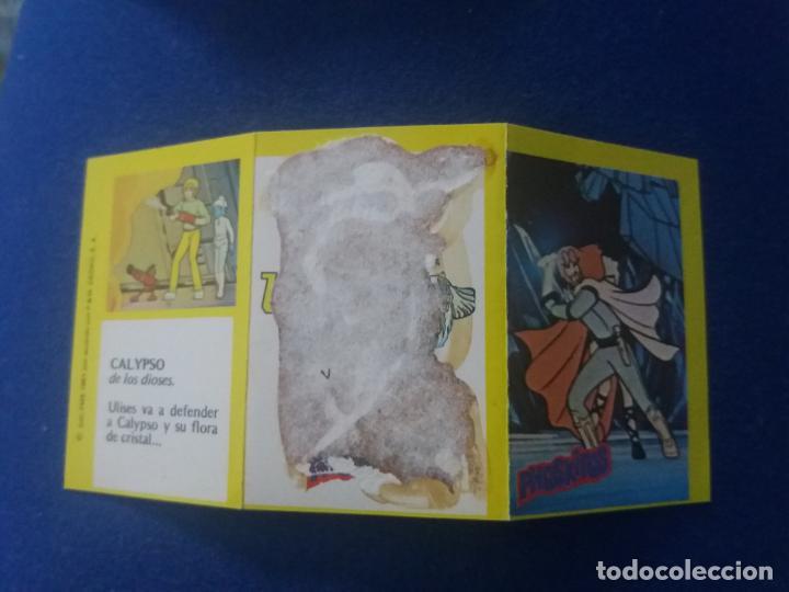 Coleccionismo Cromos antiguos: DIFICIL CROMO TRIPTICO ULISES 31 PHOSKITOS CAPÍTULO CALYPSO 34 CON TIRA DE PUNTOS - Foto 2 - 137811530