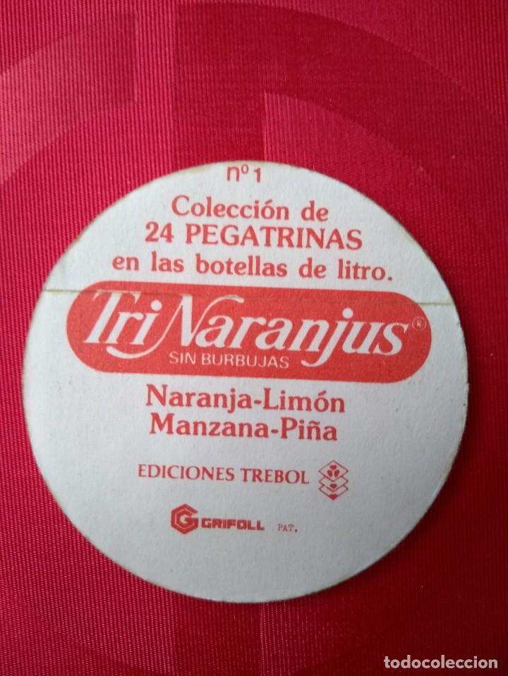 Coleccionismo Cromos antiguos: CROMO Nº 1 - TRINARANJUS - DESDE TRINA CON AMOR - EDICIONES TREBOL - Foto 2 - 137883210
