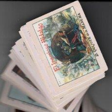 Coleccionismo Cromos antiguos: CROMOS COLECCION COMPLETA DE 100 .- EL INGENIOSO HIDALGO DON QUIJOTE DE LA MANCHA . Lote 138780986