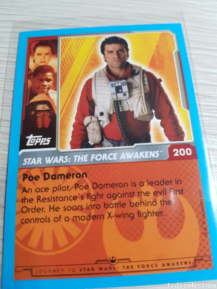 Topps Journey to Star Wars nº 200-POE Dameron