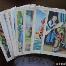 Coleccionismo Cromos antiguos: AVENTURAS DE CLEMENTE VOLADOR - CHOCOLATES JUNCOSA. Lote 139192230