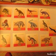 Coleccionismo Cromos antiguos: CONGUITOS DINOSAURIOS LOTE AVANZADO. Lote 140076370