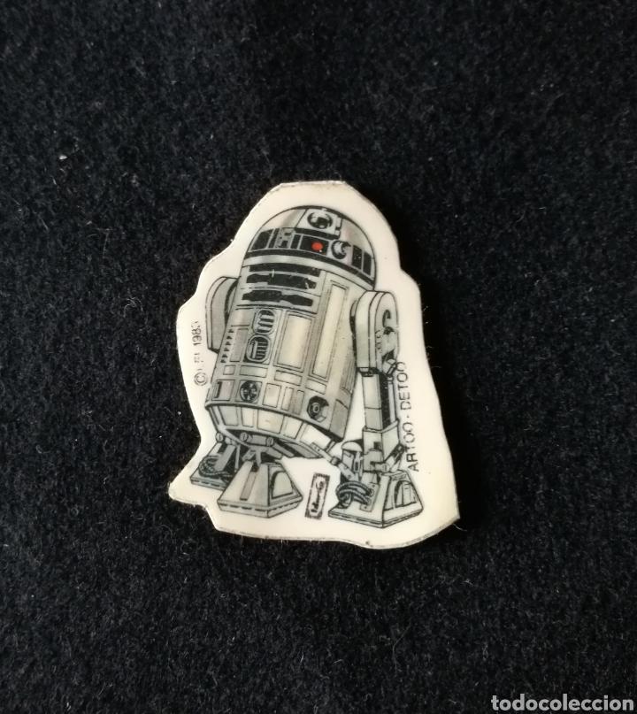 R2-D2 RETORNO DEL JEDI STAR WARS PANRICO !! DIFICIL !! ^_^ (Coleccionismo - Cromos y Álbumes - Cromos Antiguos)