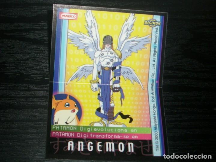 -PANRICO DIGIMON 2000 : ANGEMON (Coleccionismo - Cromos y Álbumes - Cromos Antiguos)
