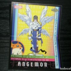 Coleccionismo Cromos antiguos: -PANRICO DIGIMON 2000 : ANGEMON. Lote 140194898