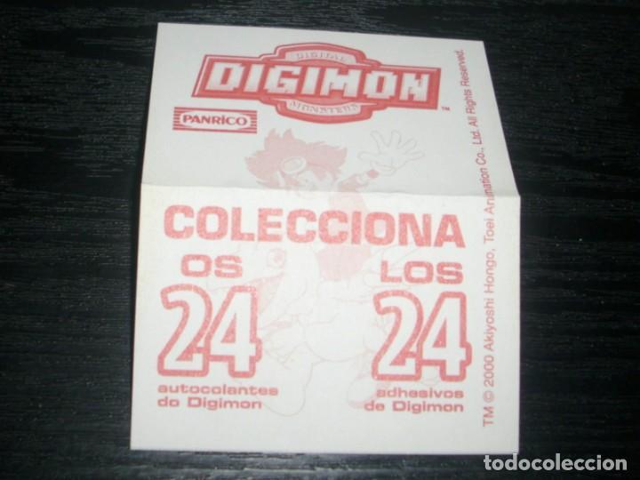 Coleccionismo Cromos antiguos: -PANRICO DIGIMON 2000 : ANGEMON - Foto 2 - 140194898