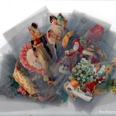 Coleccionismo Cromos antiguos: LOTE DE 39 CROMOS DEL SIGLO XIX. VER FOTOS.. Lote 140234062