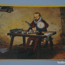 Coleccionismo Cromos antiguos: CROMO DE DON QUIJOTE DE LA MANCHA SIN PEGAR Nº 62 AÑO 1979 DEL ALBUM DON QUIJOTE...... DE DANONE. Lote 245956425