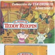 Coleccionismo Cromos antiguos: EL MUNDO DE TEDDY RUXPIN - CELDITOR - SOBRE CERRADO. Lote 171063450
