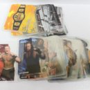 Coleccionismo Cromos antiguos: LOTE 83 LAMINCARDS SMACK DOWN PRESSING CATCH WWF MUNDICROMO CROMOS CARDS. Lote 140878938