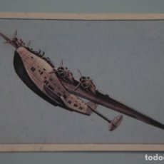 Coleccionismo Cromos antiguos: CROMO DE AVIACIÓN DESPEGADO Nº 59 AÑO 1985 DEL ALBUM GRAN HISTORIA DE LA AVIACIÓN DE SARPE . Lote 141632898