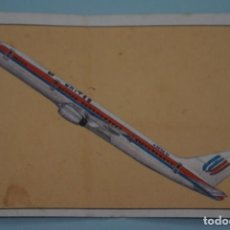 Coleccionismo Cromos antiguos: CROMO DE AVIACIÓN DESPEGADO Nº 192 AÑO 1985 DEL ALBUM GRAN HISTORIA DE LA AVIACIÓN DE SARPE . Lote 141636402