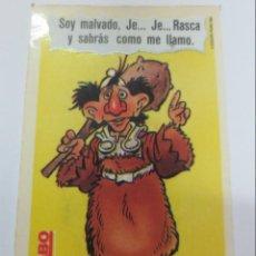 Coleccionismo Cromos antiguos: CROMO LOS AURONES BIMBO . Lote 142399209