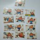 Coleccionismo Cromos antiguos: LOTE DE 13 CROMOS BIMBO EL ALIMENTO DE LOS OLIMPICOS. COMITE OLIMPICO ESPAÑOL. TDKP13. Lote 141851670
