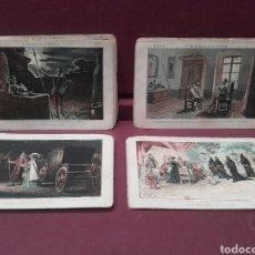 Coleccionismo Cromos antiguos: DON QUIJOTE DE LA MANCHA, AMATLLER 45 CROMOS DE 120. Lote 141893740