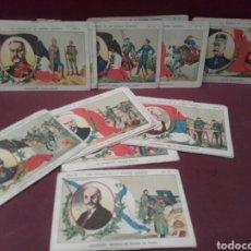 Coleccionismo Cromos antiguos: LOS HÉROES DE LA GUERRA EUROPEA , CHOCOLATES PI , BARCELONA. Lote 141898764
