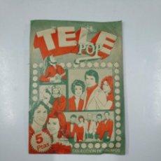 Coleccionismo Cromos antiguos: SOBRE DE CROMOS TELE POP. TELEPOP. SIN ABRIR. EDICIONES ESTE. TDKP13. Lote 141939726