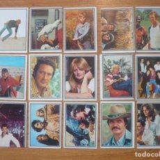 Coleccionismo Cromos antiguos: LOTE 15 CROMOS NUNCA PEGADOS DEL ALBUM TELESTARS - EDICIONES ESTE 1978. Lote 142981350