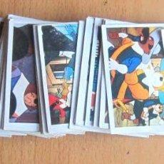 Coleccionismo Cromos antiguos: D'ARTACAN Y LOS TRES MOSQUEPERROS LOTE 27 CROMOS SIN PEGAR ED. LISEL 1981. Lote 143159190