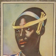 Coleccionismo Cromos antiguos: CROMO ALBUM Nº 2 A TRAVES DE AFRICA DE CHOCOLATES BATANGA SERIE V NUMERO 6 (NUNCA PEGADO). Lote 143530878