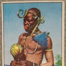 Coleccionismo Cromos antiguos: CROMO ALBUM Nº 2 A TRAVES DE AFRICA DE CHOCOLATES BATANGA SERIE V NUMERO 7 (NUNCA PEGADO). Lote 143530898