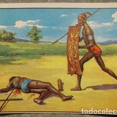 Coleccionismo Cromos antiguos: CROMO ALBUM Nº 2 A TRAVES DE AFRICA DE CHOCOLATES BATANGA SERIE V NUMERO 11 (NUNCA PEGADO). Lote 143531122