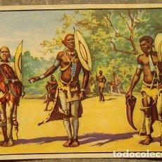 Coleccionismo Cromos antiguos: CROMO ALBUM Nº 2 A TRAVES DE AFRICA DE CHOCOLATES BATANGA SERIE V NUMERO 12 (NUNCA PEGADO). Lote 143531374