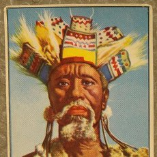 Coleccionismo Cromos antiguos: CROMO ALBUM Nº 2 A TRAVES DE AFRICA DE CHOCOLATES BATANGA SERIE VII NUMERO 7 (NUNCA PEGADO). Lote 143531958